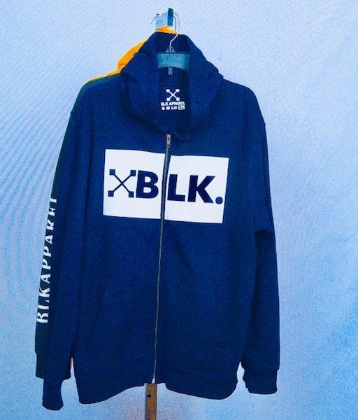 Blue hood BLK