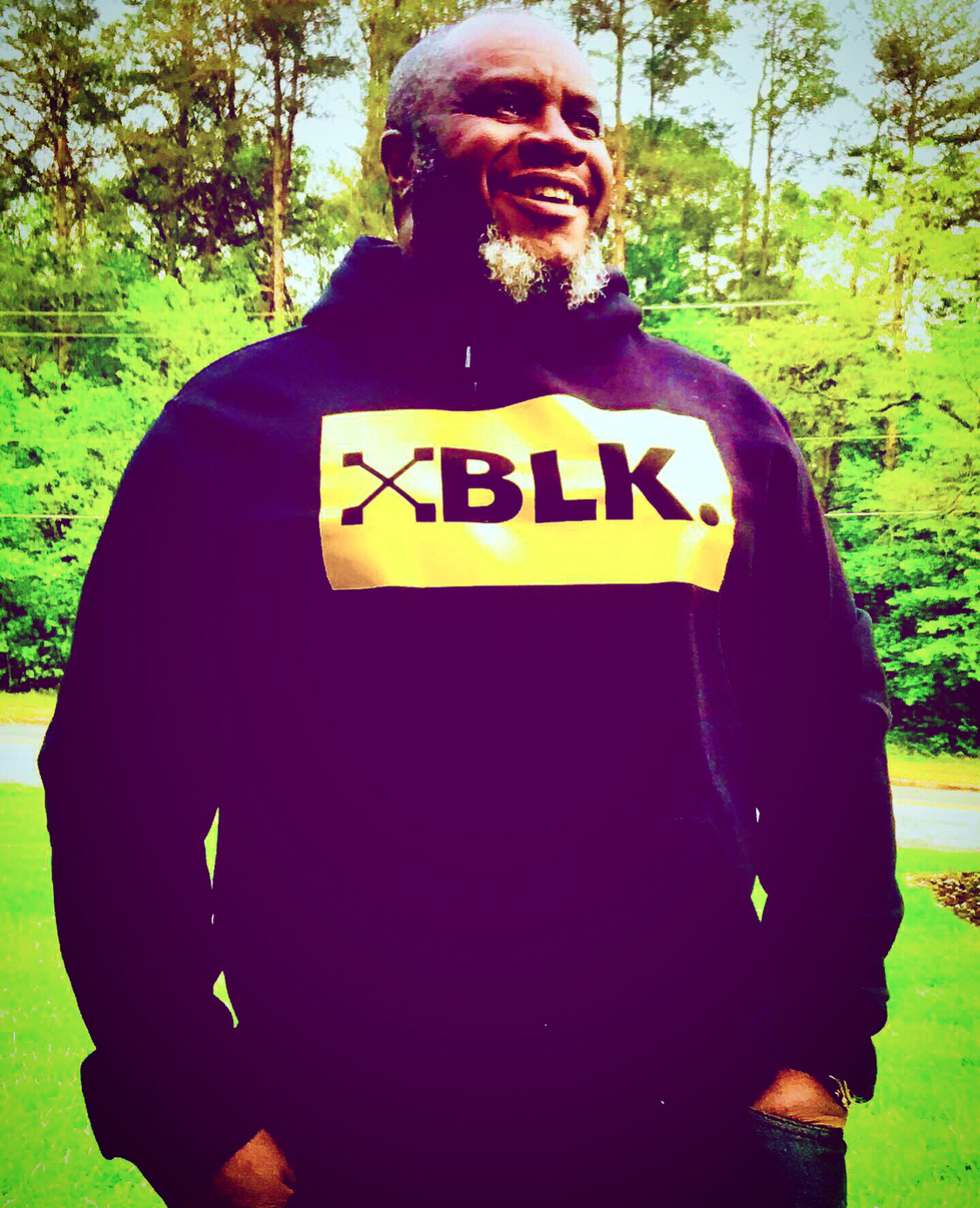 XBLK Hooded BLK GOLD