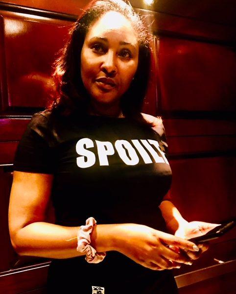 "Women's Black ""SPOILT by BLKAPP"" T-shirt"